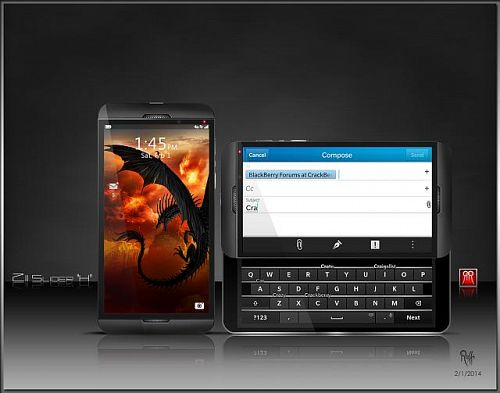 BlackBerry Z11 And Z20 Concept! – HWZBB