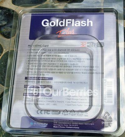 Barun Electronic GoldFlash PLUS microSD