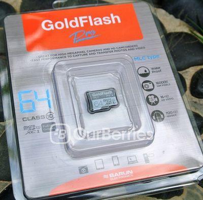 Barun Electronic GoldFlash Pro MicroSD