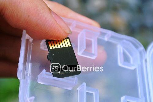 Memento EXpert MicroSD Back