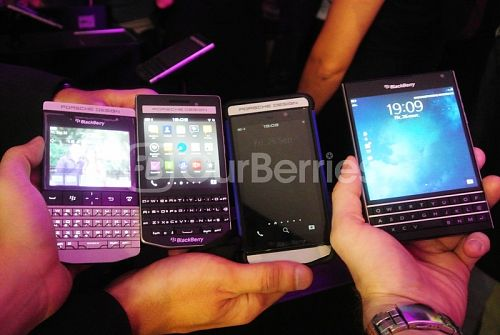 BlackBerry Porsche Design Family