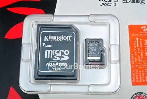Kingston Advanced Class 10 UHS-I (64GB) [Also Known As Kingston UltimateX MicroSD] Retail Packing