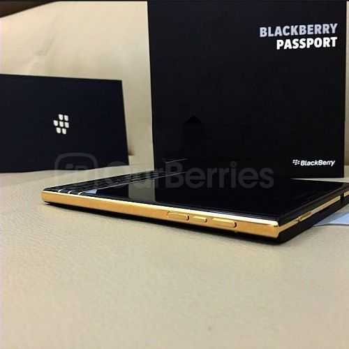 BlackBerry Black/Gold