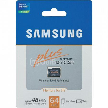 Samsung Plus MicroSD Retail