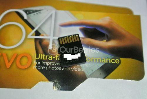 Samsung Evo microSD Back