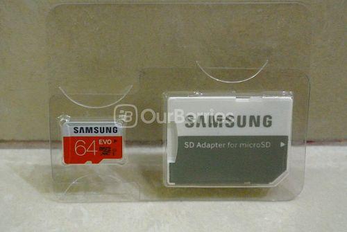 Samsung Evo MicroSD Front