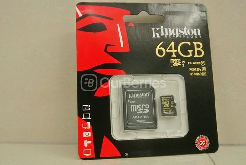 Kingston CL10 UHS-I 90R/45W MicroSD (64GB) [SDCA10] Retail