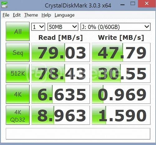 Lexar High-Performance UHS-I 633x MicroSD CrystalDiskMark 2