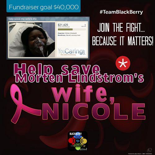 BlackBerry United: Morten Lindstrom Needs Help!
