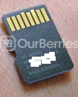 Samsung PRO microSD (New 2014 Model) (64GB) Reverse