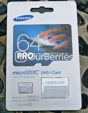 Samsung PRO microSD (New 2014 Model) (64GB) Retail Front