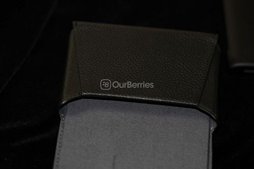 BlackBerry Passport Leather Swivel Holster Pouch view
