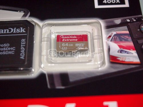 SanDisk Extreme microSDXC UHS-3 Card Retail Zoom In