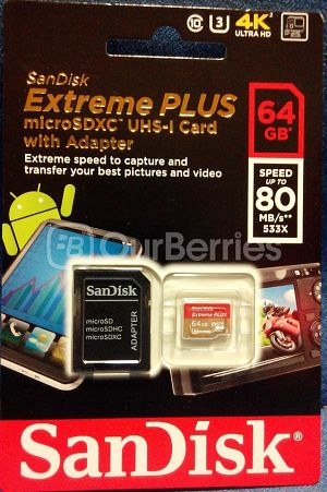SanDisk Extreme Plus microSDXC UHS-I (64GB) [2014 Edition] Retail Front