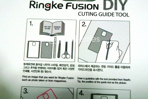 DIY Instructions 1 For Ringke Fusion for BlackBerry Passport