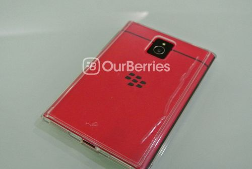 BlackBerry Passport with Ringke Fusion case, protective film