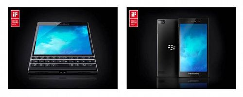 BlackBerry Passport and Z3 IFI Awards