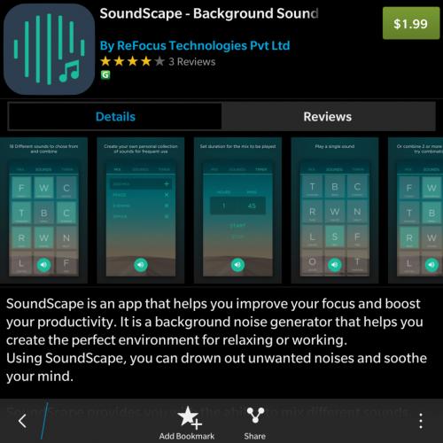 SoundScape from ReFocus Tech