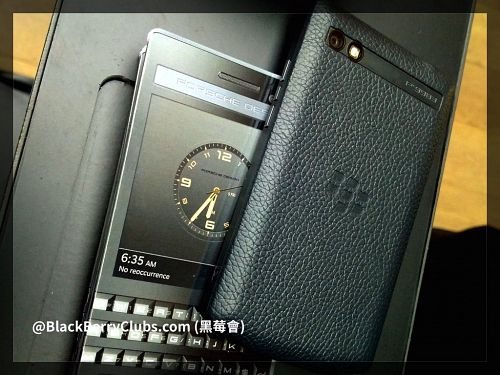 BlackBerry Porsche Design P'9983 new leather back