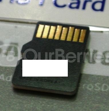 Samsung Evo MicroSD (128GB) back