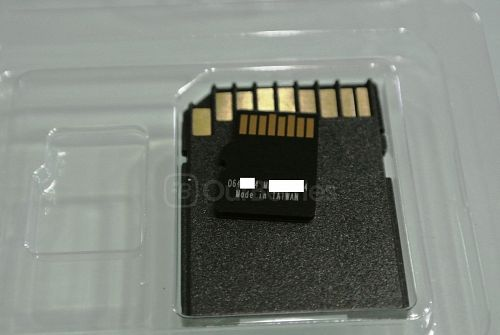 Silicon Power 64GB Elite MicroSDXC Card Design Reverse