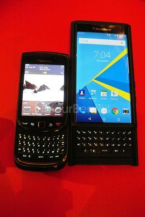 BlackBerry Priv vs BlackBerry Torch #Sliders