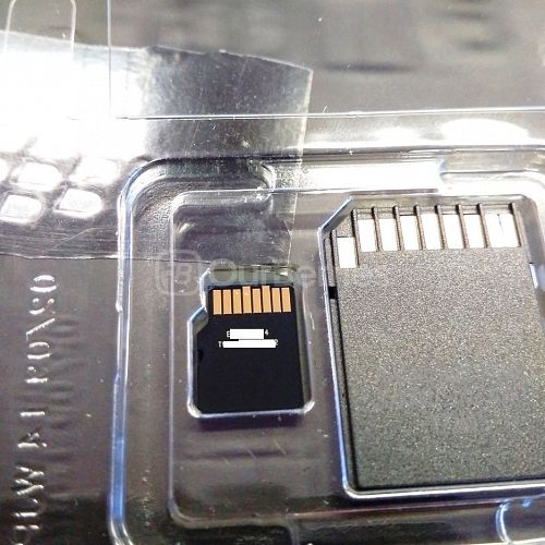 Kingston SDC10G2 microSDXC close up back