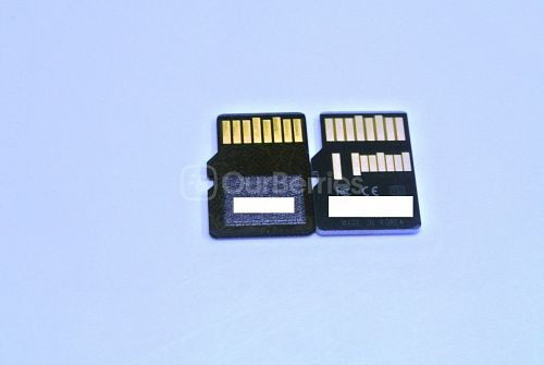 SanDisk Extreme MicroSD vs Lexar Professional 1000x MicroSDXC (64GB) Back