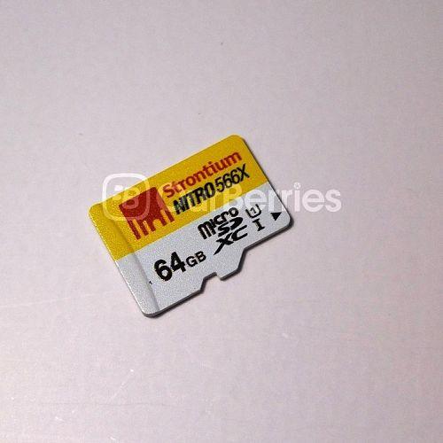 Strontium Nitro MicroSD front