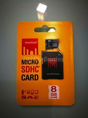 Strontium MicroSDHC Card (8GB)