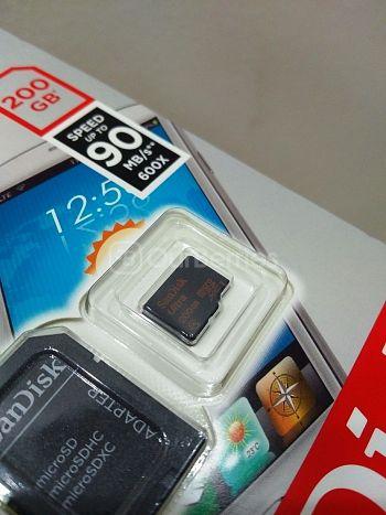 SanDisk Ultra 200GB MicroSD In Retail Packaging