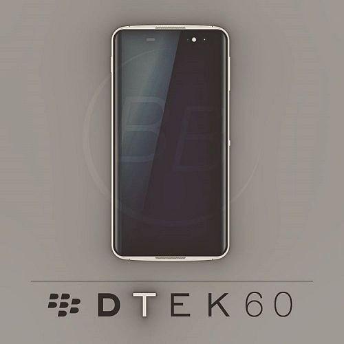 BlackBerry DTEK60 Render by Dylan Habkirk