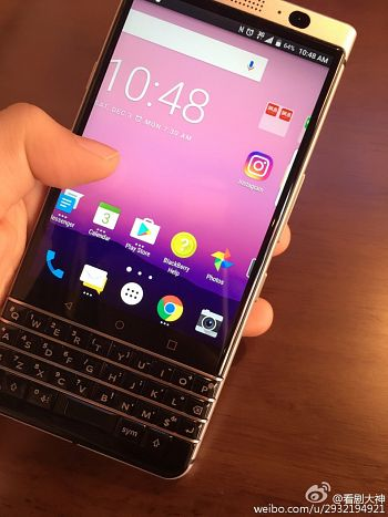 BlackBerry Mercury's First Leak?