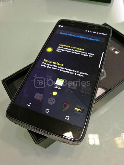 BlackBerry DTEK series smartphones