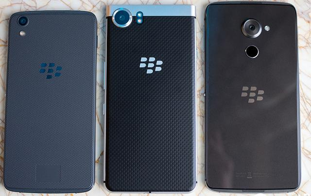 BlackBerry DTEK50 vs Mercury vs DTEK60