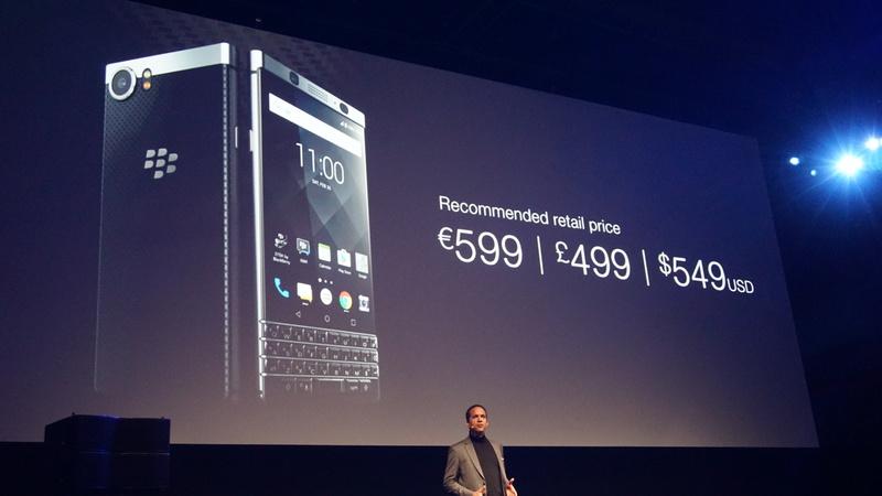 BlackBerry KEYOne Pricing