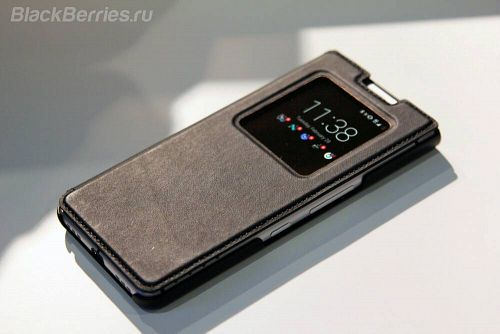 BlackBerry Leather Flip Case-1 for BlackBerry KEYone