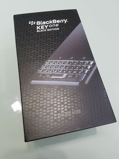 BlackBerry KEYone Black Edition Retail