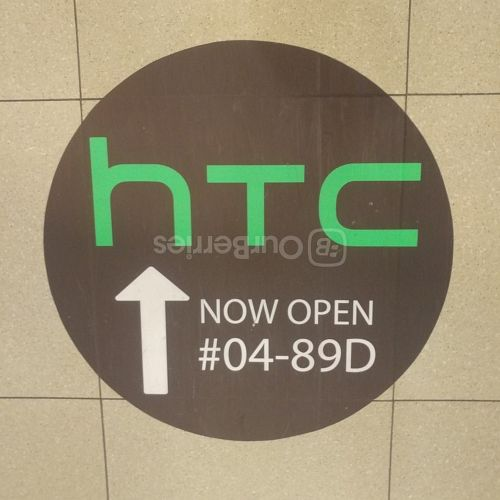 Signs to TOM, HTC service centre