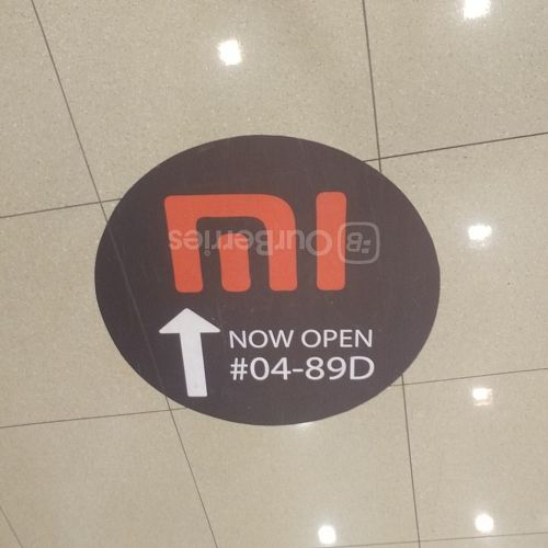 Signs to TOM, Xiaomi service centre